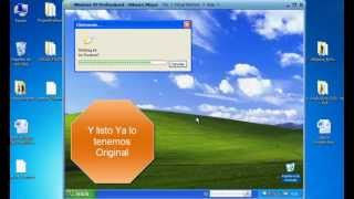 Validar Windows Xp SP3 Hacer Original 2013