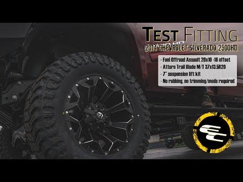 Test Fitting - 2014 Chevy Silverado 2500HD w/ 7