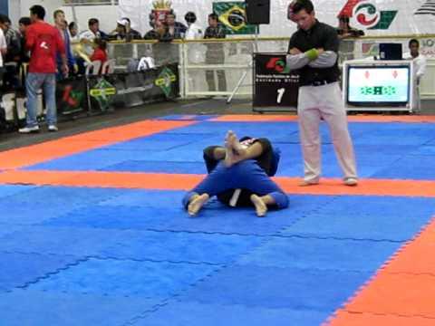 Campeonato Paulista de Jiu-Jitsu 2011 - João Vitor Zuim - Infanto B - Peso médio