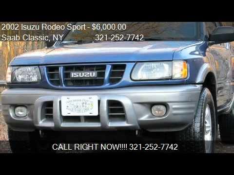 Isuzu recalls Rodeo Sport, Amigo SUVs to fix suspension rust problems