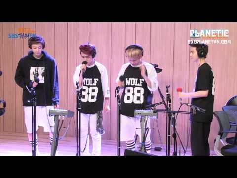 [Vietsub] 130711 EXO - Baby dont cry LIVE @ SBS Power FM Cul Two Show  [EXOPLANETVN.COM]
