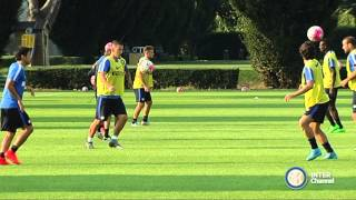 ALLENAMENTI INTER REAL AUDIO 10 09 2015