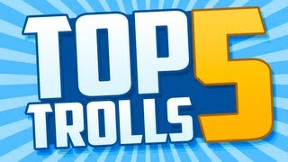 Top 5 Trolls: STAT RESET TROLL, Real Life Prank, Autotune BO2 and More!