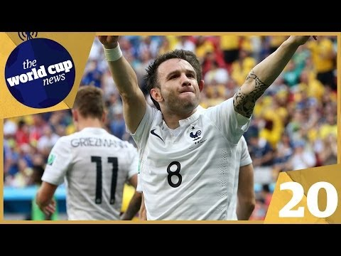 Pogba & Valbuena star for France vs Nigeria plus Schürrle rescues Germany vs Algeria | Day 20