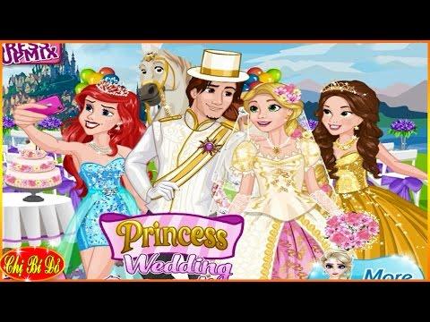 Trò chơi công chúa Disney ♥ Đám cưới công chúa tóc mây Rapunzel - Tập 1