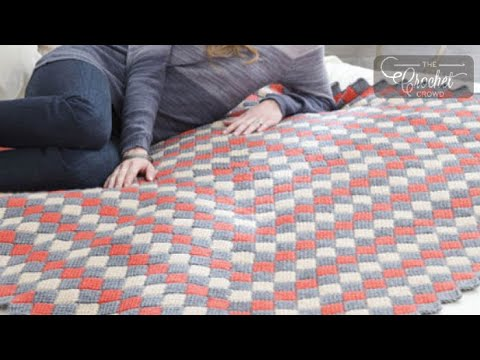 Entrelac Crochet Tips with Mikey - YouTube