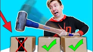 DO NOT Destroy My iPHONE X in REAL LIFE Challenge!