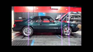 Fox Body Mustang Kills 2 C6 Vettes And Camaro SS