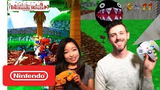 A Look Back at Super Mario 64 & Super Mario Sunshine – Nintendo Minute