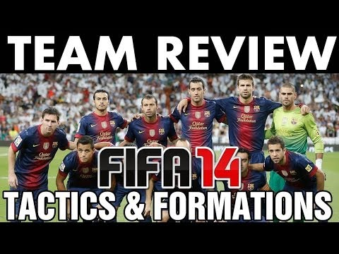 FIFA 14 | Team Review | FC Barcelona Tactics / Formations (H2H Season) Best Full Guide - Next Gen