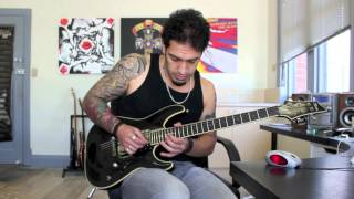How to play 'Hail To The King' by Avenged Sevenfold Guitar Solo Lesson w/tabs