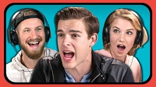 YOUTUBERS REACT TO FORTNITE (Orange Shirt Kid Memes & #Boogiedown Challenge)
