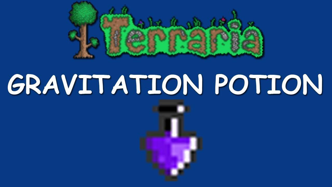 Terraria Gravitation Potion Alchemy Youtube