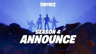 Fortnite - Season 4 Bejelentés Trailer