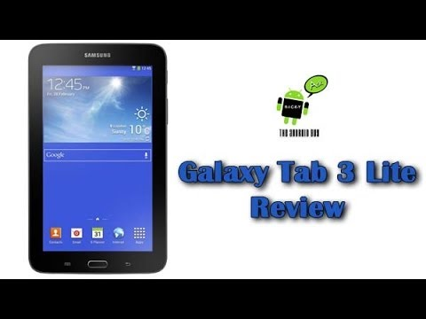 Galaxy Tab 3 Lite Review