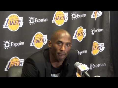 LOS ANGELES LAKERS: KOBE BYANT CHRISTMAS INTERVIEW: GARY G. (IVNEWS)
