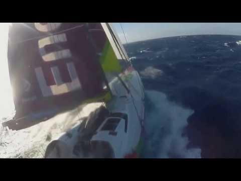 Filmy z pokładu jachtu ENERGA: Cabo da Roca