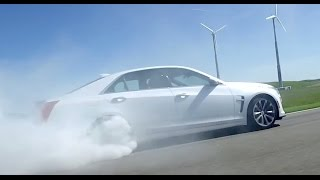 Cadillac CTS-V --  Test Drive. Drive Youtube Channel.