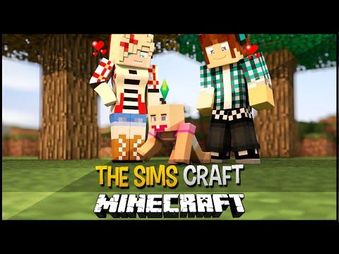 The Sims Craft Ep.41 - Minha Filha Nasceu !!  - Minecraft