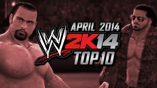 WWE 2K14: Top 10 CAWs (April 2014)