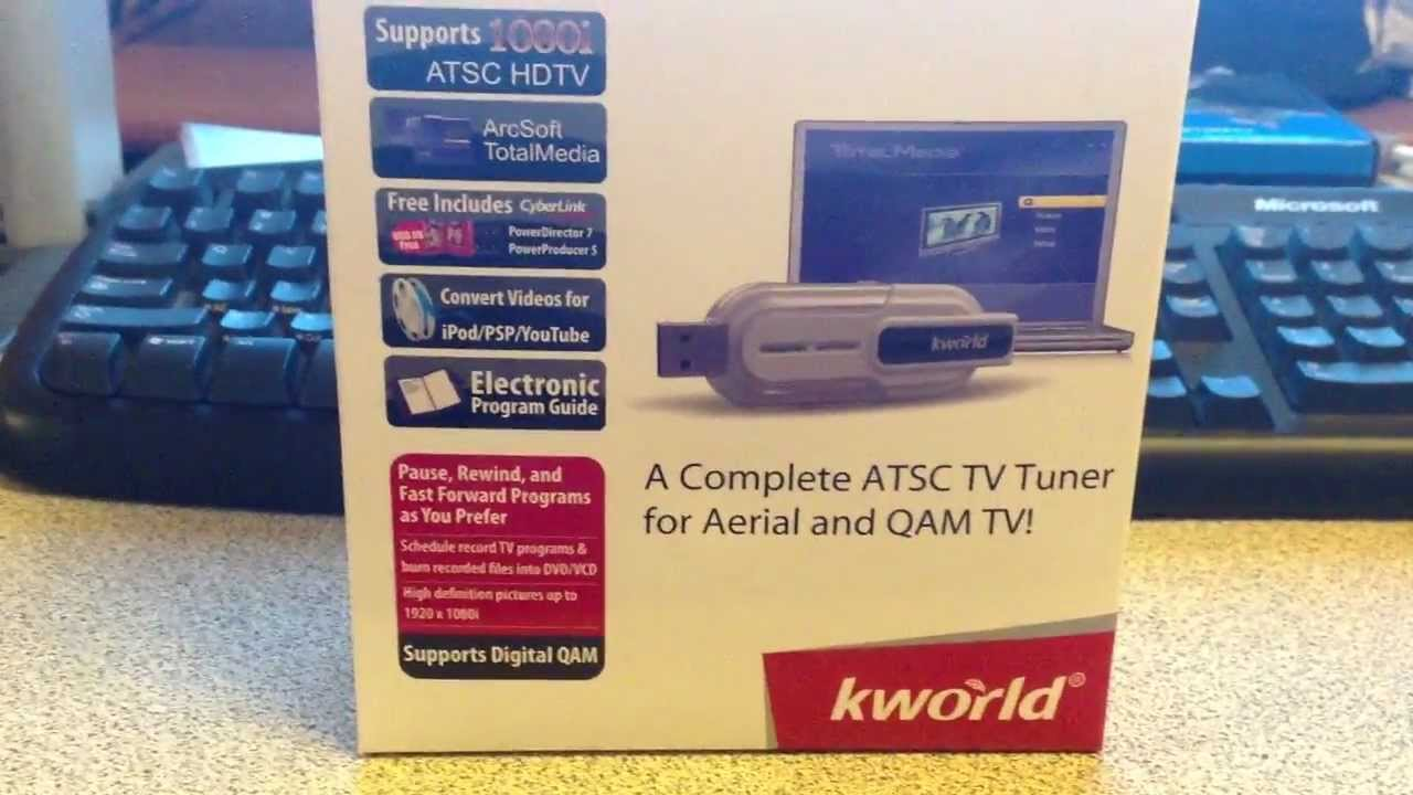 kworld tv tuner driver windows 7
