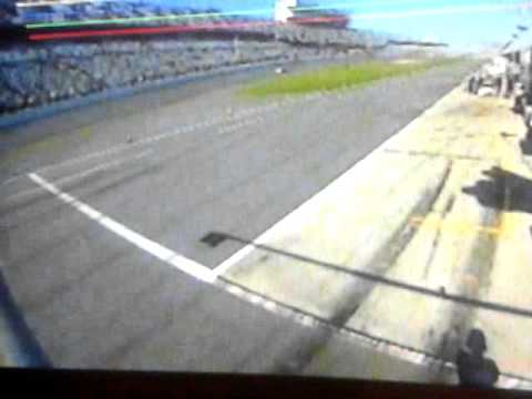 Accident audi R8 @ 2014 Daytona 24H