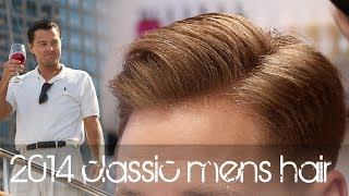 The Wolf Of Wall Street Hairstyle New Classic Men's Hair