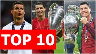 Top 10 điều bá đạo nhất về Ronaldo