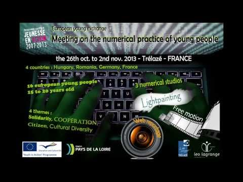 Young Exchange  Meeting on numerical practice of young people   TRELAZE   France 2013