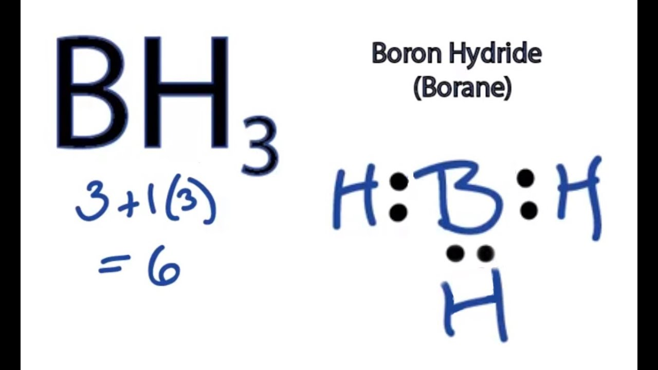Bh3 Lewis Structure - How To Draw The Lewis Structure For Bh3