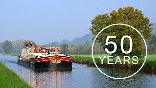Luciole celebrates 50 years of barge cruising