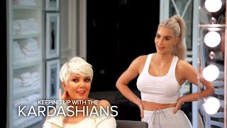 KUWTK | Kris Jenner Is Feeling Her Icy Blonde Hairdo | E!