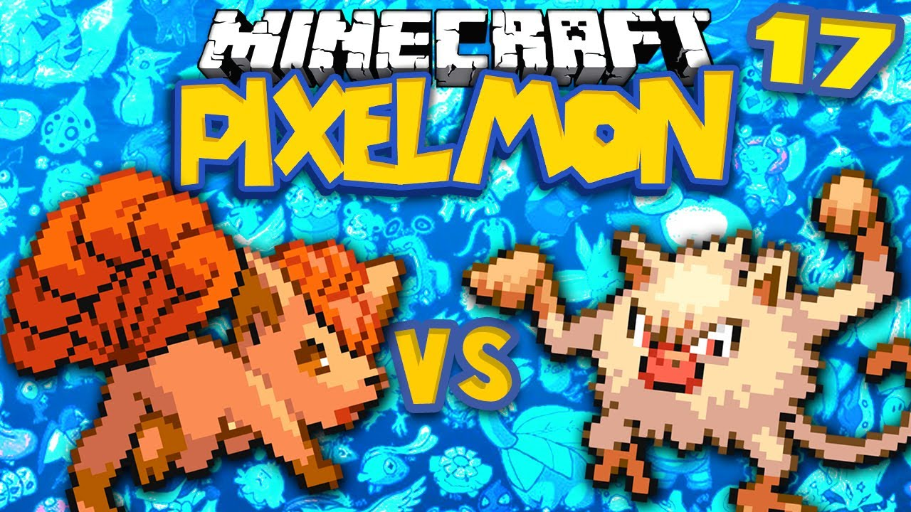 Vulpix v Mankey ★ MINECRAFT POKEMON (PIXELMON, Ep.17) - YouTube