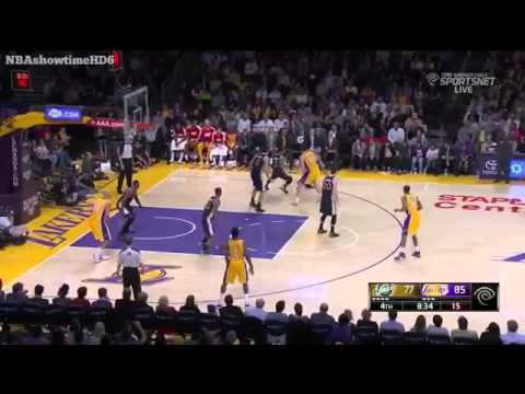 Kendall Marshall Full Highlights /  Jazz vs Lakers / 20 points and 11 assists  1/3/2014