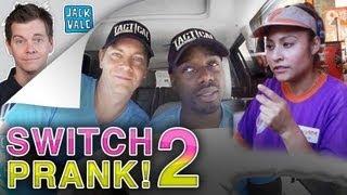 DRIVE THRU SWITCH PRANK 2!