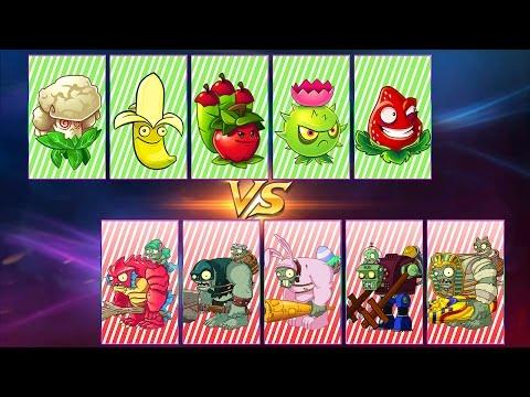 Plants vs. Zombies 2 PREMIUM PLANTS vs GARGANTUAR