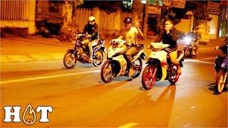 Bom tấn ĐUA XE ► Phố núi Gia Lai dậy sóng với dàn XE ĐỘ có CSGT