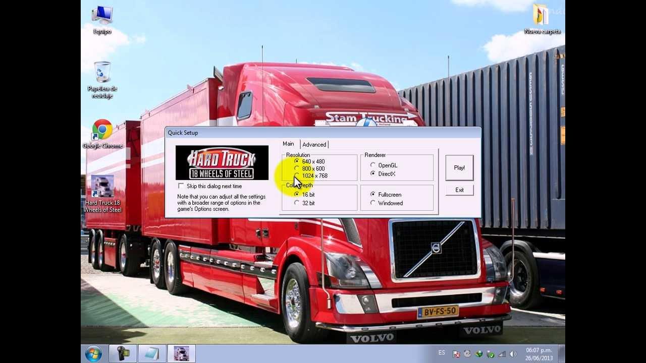 ?C?mo Descargar e Instalar Hard Truck 18 Wheels of Steel ISO + Crack No CD?