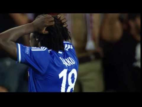 Romelu Lukaku missed penalty in UEFA Supercup - 30/8/3013