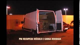 PM recupera carga de cigarros roubados em Contagem