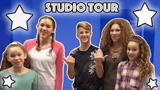 STUDIO TOUR!! (MattyBRaps & Haschak Sisters)