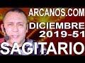 Video Horóscopo Semanal SAGITARIO  del 15 al 21 Diciembre 2019 (Semana 2019-51) (Lectura del Tarot)