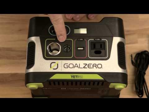 Goal Zero Yeti 150 Power Pack Generator