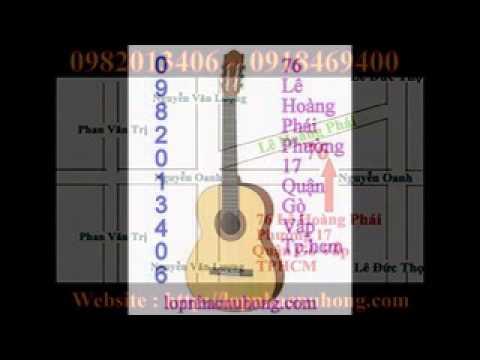 bán đàn ghita cần lớn với nhiều màu rất đẹp cho người mới học