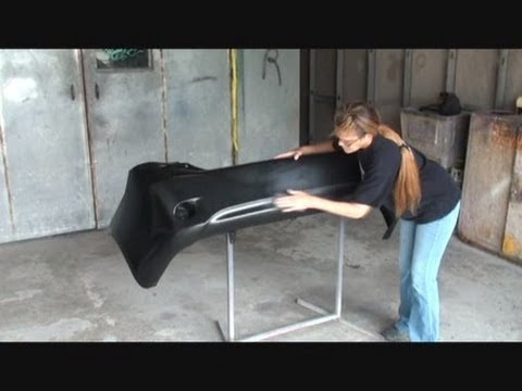 how to prep your plastic bumper cover for paint youtube. Black Bedroom Furniture Sets. Home Design Ideas