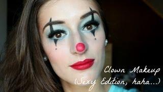 Clown Makeup Tutorial (Sexy Edition)