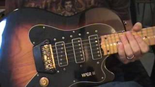 Ovation Viper III 3 Guitar Review By Scott Grove