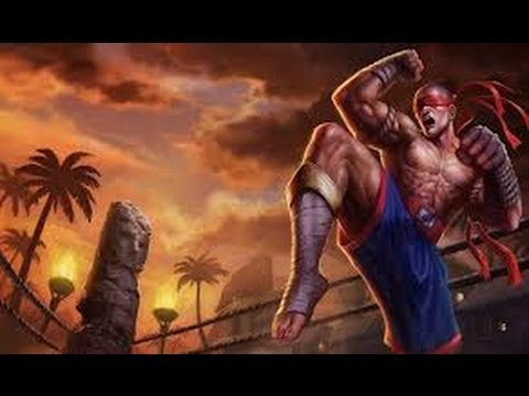 League Of Legends - Muay Thai Lee Sin - GamePlay