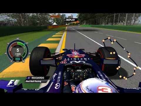 F1 2014 - Daniel Ricciardo OnBoard | Melbourne | 2014 FORMULA 1 ROLEX AUSTRALIAN GRAND PRIX
