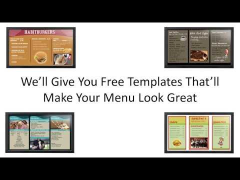 DigiMenu-Pro, The Restaurant Digital Menu Board Solution